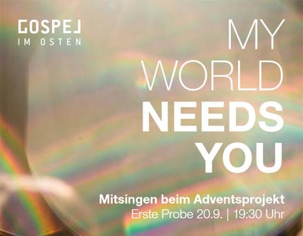 MyWorldNeedsYou Projekt